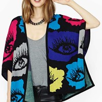 Nasty Gal Now You See Me Cardigan