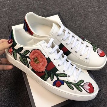 Gucci Ace Embroidered Women Sneaker