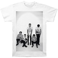 Bring Me The Horizon Men's  Group Shot T-shirt White