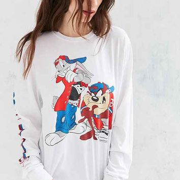 Junk Food Looney Tunes Long-Sleeve Tee
