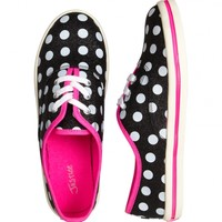 Glitter Dot Canvas Sneakers