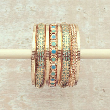 Romantic Arabian Nights Bangle Set