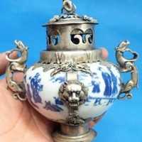 Asian Antiques Incense Burner