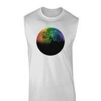 Rainbow Moon Muscle Shirt