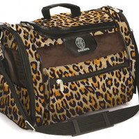 Sherpa Cat Tote Pet Carrier Sz: Med Leopard Print