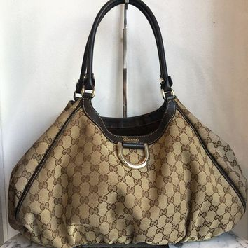 DCCKG2C Gucci 'D-Ring Hobo' Bag