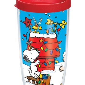 Peanuts® Christmas Wrap with Lid | 16oz Tumbler | Tervis®