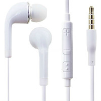 New White 3.5mm noise isolating In ear headphones earphone earpods headset headphone for PC Laptop MP3 MP4  19313 = 1713301764