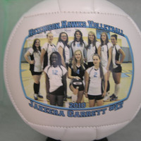 "Small  6"" Photo Volleyball - Create YOUR personal fan ball"