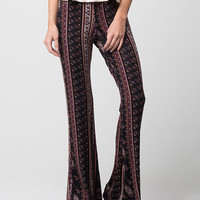 FULL TILT Ethnic Paisley Womens Flared Pants | Pants & Joggers