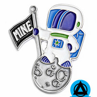 MINE Astronaut Planet Pin (Limited Edition)