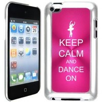 Apple iPod Touch 4 4G 4th Generation Hot Pink B1287 hard back case cover Keep Calm and Dance On