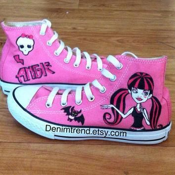 monster high shoes converse