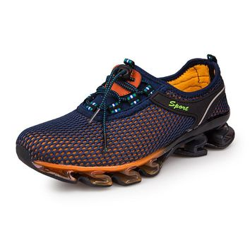 Cushion Sports Shoes Plus Size Athletic Footwear