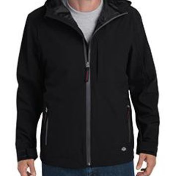 Dickies - Men's Performance Waterproof Breathable Jacket with Hood
