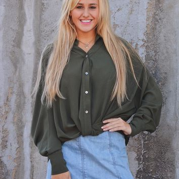 Eastside Button Up Top