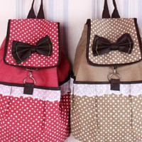 Sweet Lace Canvas Backpacks for Summer