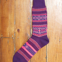 Chup x Up There Fair Isle Purple | Up There Store