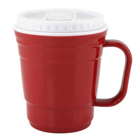 RED TRAVEL COFFEE CUP