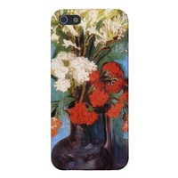 Vase Carnations Other Flowers Vincent van Gogh from Zazzle.com