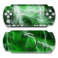 Apocalypse Green Design Decorative Protector Skin Decal Sticker for Sony PSP 3000