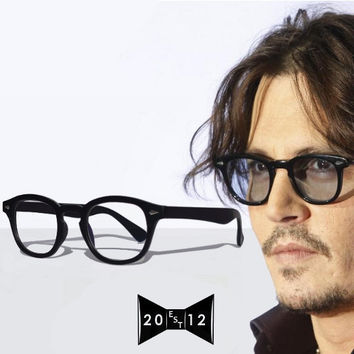Vintage style eyeglasses  Johnny Depp by TheSpecsCollector on Etsy