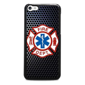 emt ems fire department iphone 5c case cover  number 1