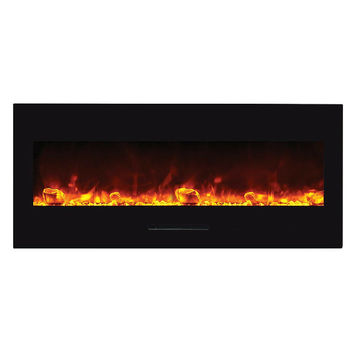 "Amantii 51"" Built-in / Wall Mounted Electric Fireplace (WM-FM-50-BG)"
