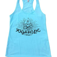 YOGAHOLIC Womens Workout Tank Top