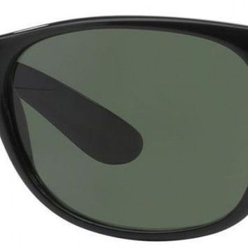 Cheap Ray-Ban New Wayfarer Classic RB 2132 Unisex Black Frame Green Classic Lens outlet