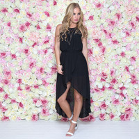 Couture Crush Hi Low Dress In Black