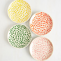 Spot Luck Plate Set | Mod Retro Vintage Kitchen | ModCloth.com