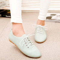 High Quality Vintage Flat Shoes