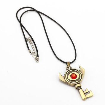 The Legend of Zelda Necklace 3 style Evil eye Key Pendant friendship Gift Game Jewelry Accessories YS12052