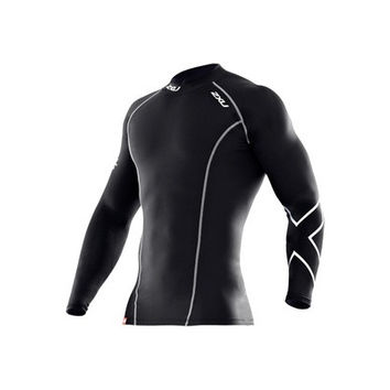 Australia 2XU Men'S Compression Sun Protection Quick Dry Leotards Outdoor Cycling Jerseys Sportwear Jogging Fitness Sports t-shirts [8833961228]