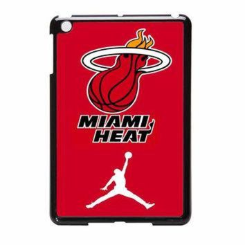 CREYUG7 Miami Heat With Nike Jordan iPad Mini Case