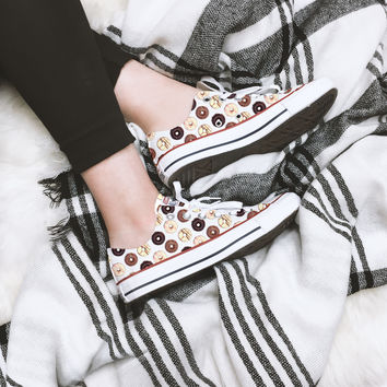 Donut Love Converse Low Top