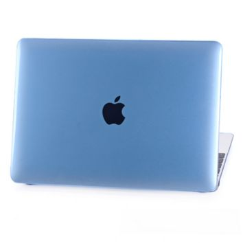 "Blue Rubberized Matte Hard Case Cut out Cover for Macbook AIR  13"" PRO 13"" 15"" Retina 12"" 13"" 15"" N1016"