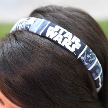 Star Wars Headband in Blue by ElegantlyGeek on Etsy