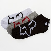 Fox Core No Show 3 Pack Sock