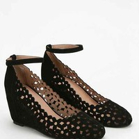 Jeffrey Campbell Daisy Ankle-Strap Wedge Heel-