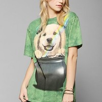 The Mountain St. Patty's Golden Retriever Tee - Urban Outfitters