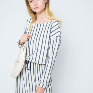 CALDER | Willa Dress-Natural Denim