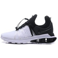 Nike Shox Gravity High Quality Trending Woman Men Stylish Sport Running Shoes Sneakers White/Black