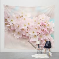 pastel beauty- In memory of Makenzie Wall Tapestry by Sylvia Cook Photography