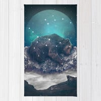 Under the Stars (Ursa Major) Rug by Soaring Anchor Designs