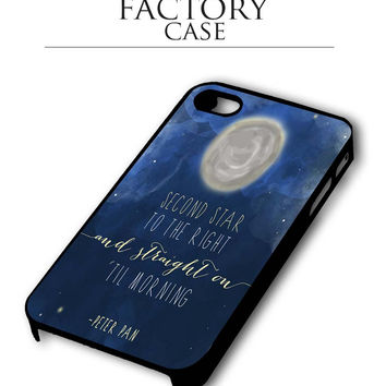 peter pan quote iPhone 4, iPhone 4s, iPhone 5, iPhone 5s, iPhone 6, iPhone 6+,iPod 4, iPod 5 case