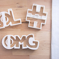 Trending Cookie Cutter Set (3D printed)