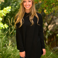 Absolute Comfort Tunic- Black