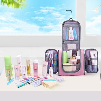 Travel Makeup Organizer Bag for women and men